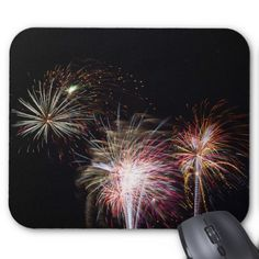 Fireworks Finale Mousepad Mouse Pad
