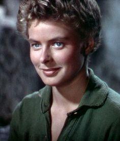 "Ingrid Bergman in ""For Whom The Bell Tolls"" (Sam Wood, 1943)"