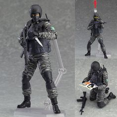 Figma 298 Gurlukovich Soldier from Metal Gear Solid 2: Sons of Liberty [IN STOCK]