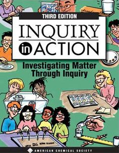 FREE--download link for Inquiry in Action, a middle school Chemistry curriculum.  400 page book including student activities, teacher explanations, handouts, etc.