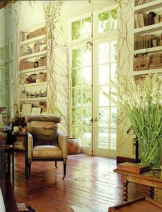Rose Tarlow in 'Be Your Own Decorator: Taking Inspiration and Cues from Today's Top Designers' Rose Tarlow, Gypsy Living, Window Styles, White Rooms, California Homes, Living Spaces, Living Rooms, French Doors, My Dream Home
