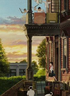 studio ghibli im thinking that this is from ocean waves