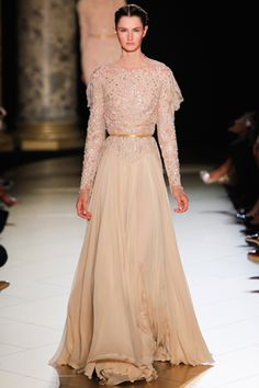 When I am famous, all I'll wear is Elie Saab. Fall 2012 Couture collection is so delicious.