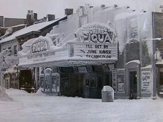 The theater in Piqua