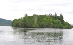 Innis Chonnell Castle on Loch Awe, Argyll -  possibly the earliest seat of the Clan Campbell - Wikipedia, the free encyclopedia