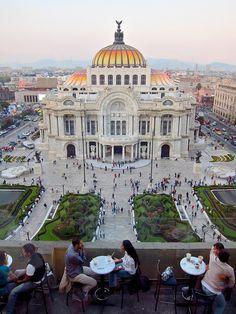 Palacio de Bellas Artes,  Mexico DF/Palace of Fine Arts. Mexico City, MEXICO.   (by israel,, via Flickr)