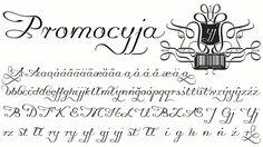 Promocyja font by gluk - FontSpace