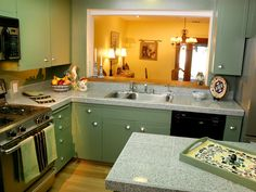 Tiled Kitchen Countertops | Kitchen Designs - Choose Kitchen Layouts & Remodeling Materials | HGTV