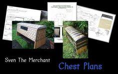 viking+chest+plans | Historical Chest Plans by Sven the Merchant https://sites.google.com ...