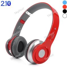 Wireless On-ear Bluetooth Stereo Headphone Foldable. S450 Supports MP3, FM & TF