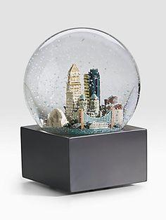 Saks Fifth Avenue - Cincinnati Snow Globe