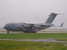 USAF C-17 heading for Antarctica  Type: Boeing C-17A Globemaster III Registration: 08-8195 Location: Christchurch International Airport Date: 18/08/2013