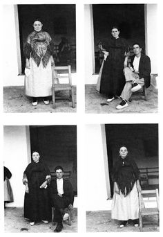 La familia de Can Llorenç, (1933-1936) - Foto: Raoul Hausmann Raoul Hausmann, Ibiza Formentera, Traditional Outfits, Polaroid Film, Photography, Pictures, Photograph, Fotografie, Photoshoot