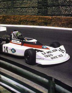 Gilles Villeneuve - March 762 BMW - Project Four Racing - XXVI Grand Prix Automobile de Pau 1976