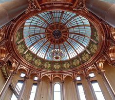 Kansas Statehouse Inner Dome Copper Restoration / Treanor Architects. Image © Treanor Architects | 12 Projects Win North American Copper in #Architecture Awards | via @archdaily