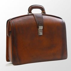 Rivera Leather Bag by Sandast. Reminds me of my Dad's old meeting bag. Good memories.