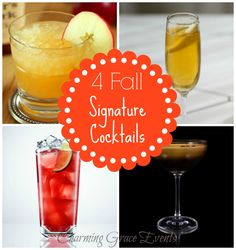 Fall inspired cocktails