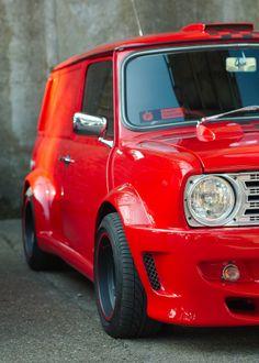 Mini Cooper Panel Van custom