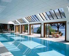 Pool Glazing - Sliding Glass Doors - Swimmingpool,Glazing - Architect,Architecture - Images,Ideas,Designs - www.solarlux.co.uk