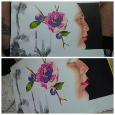 #kanuttoo #picture #paint #artist #flower #art #color #artista #ink #inked #tattoo #pintura #worldpaint #painted #drawing #draw #flor kanuttoo