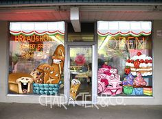 Character&Co. Sidewalk Signs, Ice Cream Stand, Bagel Shop, Board Shop, Window Graphics, Menu Boards, How To Attract Customers, Custom Windows, Ice Cream Party