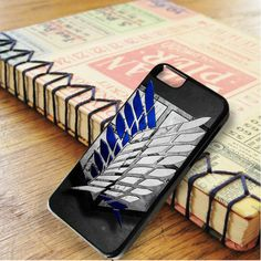 Attack On Titan Military Logo Carbon iPhone 6|iPhone 6S Case
