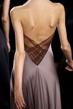 Love this dress back....: