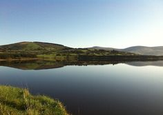 Blessington Lakes, Wicklow, Ireland - In 1940, several towns were flooded to create a man-made resevoir that would provide drinking water for the people of Dublin.
