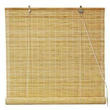 Natural Bamboo Roll Up Window Blinds