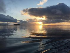 Home Again at Last Home Again, Norway, Ocean, In This Moment, Celestial, Spaces, Sunset, Outdoor, Sunsets