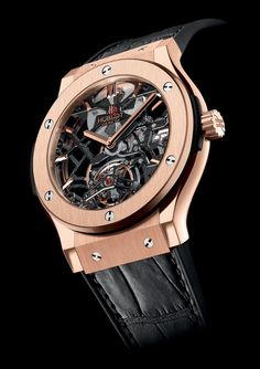 Hublot Classic Skeleton Tourbillon