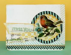 miss you card | Kelly Goree