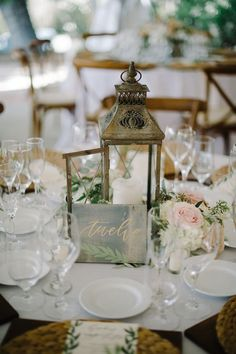 Featured Photo: John Schnack Photography; rustic wedding reception; Click to see more gorgeous wedding ideas; Featured: Tres Chic Affairs
