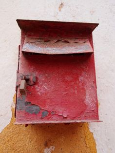 Old mail box in Gozundeira, Portugal