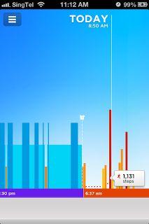Jawbone Up App - Lifeline