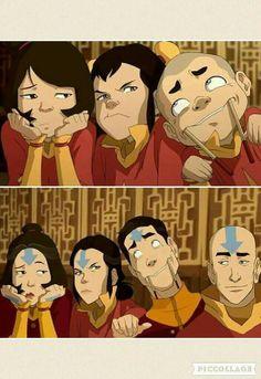 avatar the last airbender I suppose some things never change :) Avatar Aang, Suki Avatar, Avatar Legend Of Aang, Avatar The Last Airbender Funny, The Last Avatar, Team Avatar, Avatar Airbender, The Legend Of Korra, Avatar Cartoon