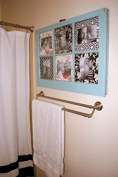 Would be very cute to use my old windows and do this