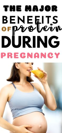 SO HELPFUL! The major benefits of protein during pregnancy for proper nutrition. Fit Pregnancy, Trimesters Of Pregnancy, Pregnancy Workout, Protein Shake Recipes, Protein Shakes, Morning Sickness Remedies, Best Protein Powder, Proper Nutrition, Breastfeeding
