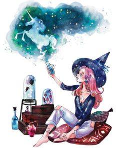 Season Of The Witch, Witch Art, Witches Brew, Believe In Magic, Twinkle Twinkle Little Star, Star Print, Happy Halloween, Celtic, Bing Images
