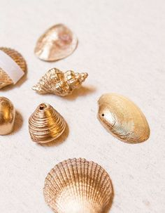 DIY special beach: shells, pebbles, driftwood, everything for a decor that breathes the holidays - Elle Décoration Beach Wedding Tables, Crafts Beautiful, Wedding Table Decorations, Diy Décoration, Seashell Crafts, Diy Art, Diy For Kids, Sea Shells, Elle Decor