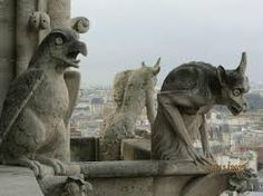 Gárgolas de Nôtre Dame, París