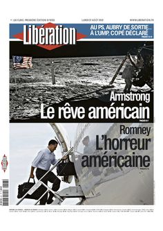 How Europe Views Mitt Romney, In One Newspaper Front Page