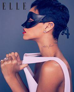 Rihanna for Elle UK, 2013.