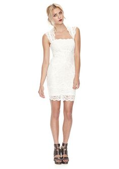 White lace- not just for brides... @Stephanie's Shop