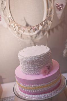 Lilias baby shower cake #babyshower #cake #girl