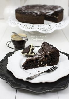 Czekoladowoec z nerkowcami Chocolate Brownies, Pudding, Food, Cakes, Chocolate Chip Brownies, Choclate Brownies, Cake Makers, Custard Pudding, Essen