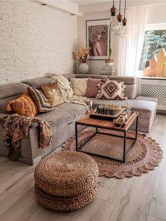 Fall Room Decor, Bedroom Decor, Living Room Inspiration, Home Decor Inspiration, Boho Living Room, Living Room Decor Tumblr, Cozy Living Rooms, Cozy House, Apartment Living