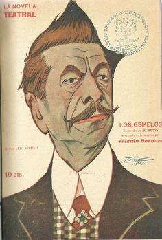 Los gemelos. En tres actos y un prólogo. Tito Maccio Plauto. Tristán Bernard; Antonio Palomero Dechado (1869-1914). Madrid : La Novela Corta. 1918. http://bvirtual.bibliotecas.csic.es/csic:csicalephbib000554239
