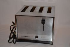 1960's TOASTMASTER D128 Vintage 4-Slice Toaster ~ Working Condition #Toastmaster