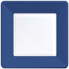 Coordinate Textured Square Plates Navy Blue Navy Blue Paper and Plastic Dinnerware  sc 1 st  Pinterest & Paper plates n napkins | Michigan stuff.... Go blue! | Pinterest
